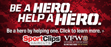Sport Clips Haircuts of Somerville​ Help a Hero Campaign